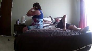 Camera caseira casal transando gostoso no quarto