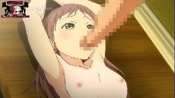 Cartoon porno com uma jovem menina tendo a bucetinha fodida