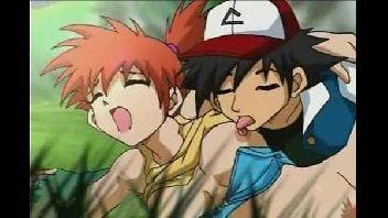 Hentai pokemon ash fodendo a safadinha