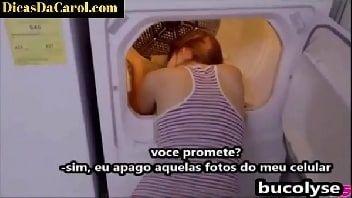 Porno legal safada dando na lavanderia para o marmanjo