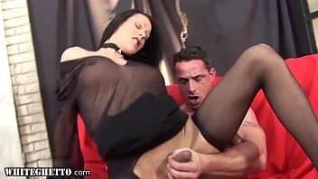 Top travesti transando gostoso com macho safado