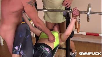 Porno excitante putaria na hora do treino